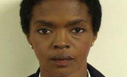 Lauryn Hill Mug Shot: All Business!