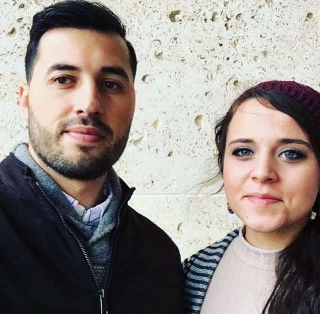 "Jeremy Vuolo and Jinger Duggar in the ""Cold"""