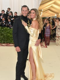 Tom and Gisele at the Gala