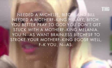 Nicki Minaj SLAMS Melania Trump