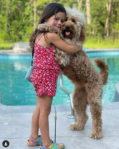 Ensley and Dog