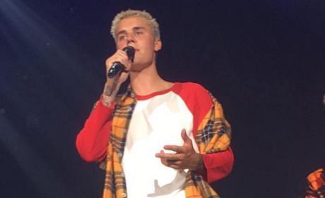 Justin Bieber In Concert, On Instagram