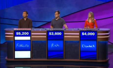 Jeopardy: Elaine Benes Pronunciation Mishap