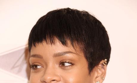 Rihanna Short Hair