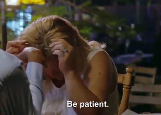 "usman umar to lisa hamme ""be patient"""