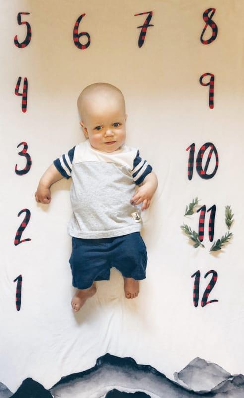 Jackson at 11 months