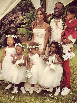 Bobby Brown-Alicia Etheridge Wedding