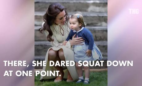 Kate Middleton Wardrobe Malfunction at Kids Party!