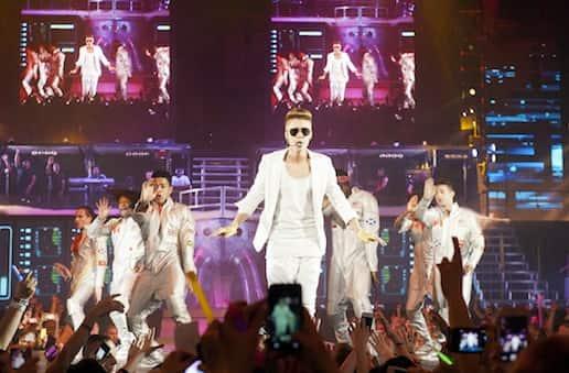 Justin Bieber Germany Concert Pic