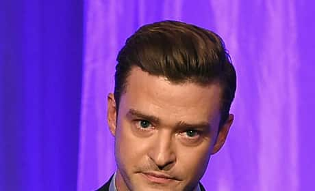 Justin Timberlake Attends Hollywood Foreign Press Association's Grants Banquet