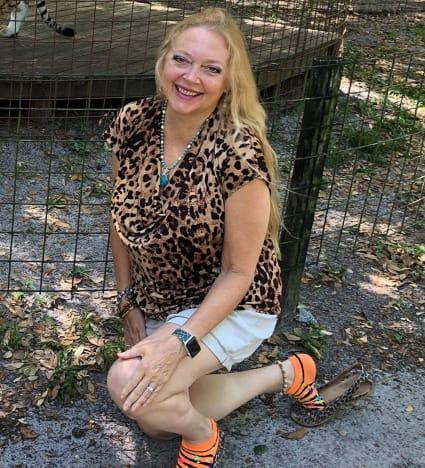 Carole Baskin at Home
