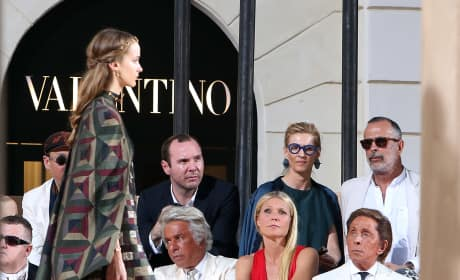Gwyneth Paltrow:  Valentino's 'Mirabilia Romae' Haute Couture Collection Fall/Winter 2015-2016
