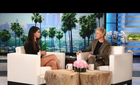 Selena Gomez Talks Nudity With Ellen DeGeneres