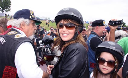 Sarah Palin Revs Up Rolling Thunder Rally