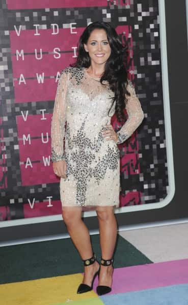Jenelle Evans at the VMAs