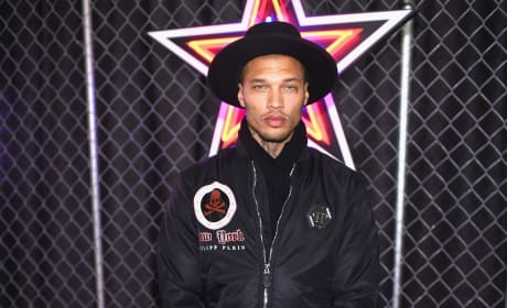 Jeremy Meeks at New York Fashion Week