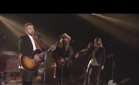 Chris Stapleton and Justin Timberlake Steal CMA Spotlight