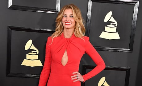 Faith Hill at 2017 Grammy Awards