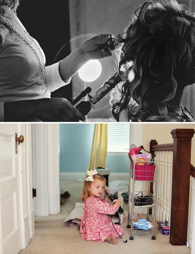 Father and Daughter's Photo Shoot is Beautiful