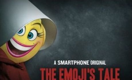 The Emoji Movie Parodies The Handmaid's Tale, Much to Twitter's Extreme Chagrin