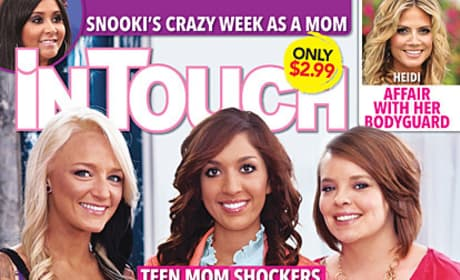 Teen Mom Tabloid Cover