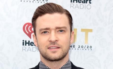 Justin Timberlake on Red Carpet