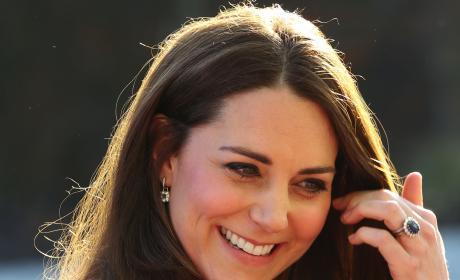 Kate Middleton Glows