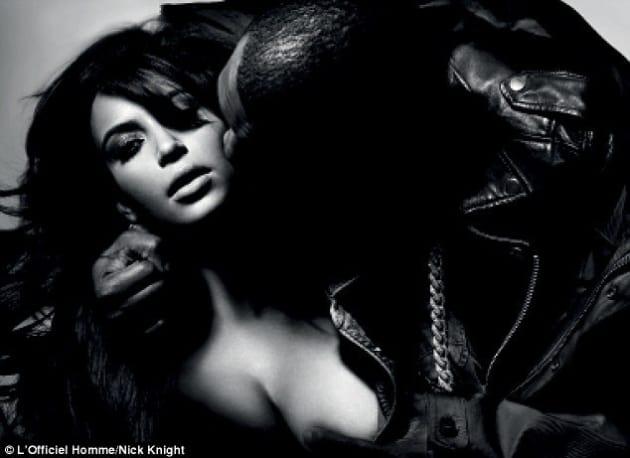Kim Kardashian Breast Grab