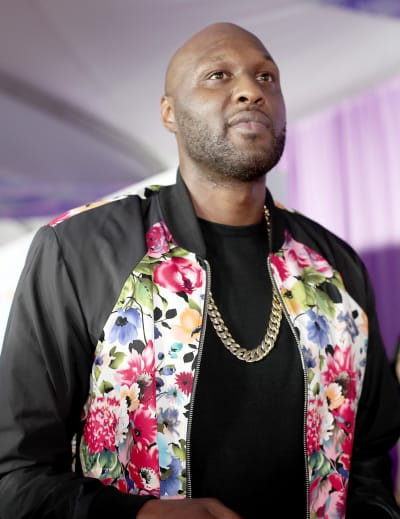 Lamar Odom at Kids Choice Awards