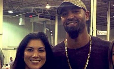 Hope Solo, Jerramy Stevens Photo