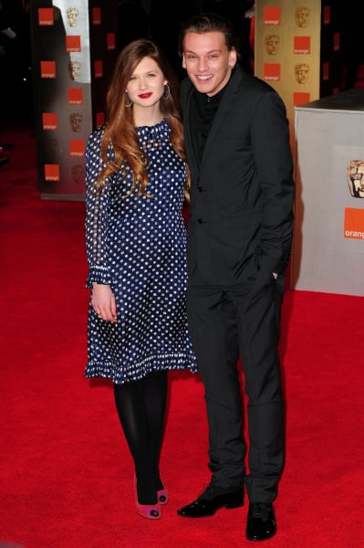 Jamie Campbell Bower and Bonnie Wright: It's Over! - The ...