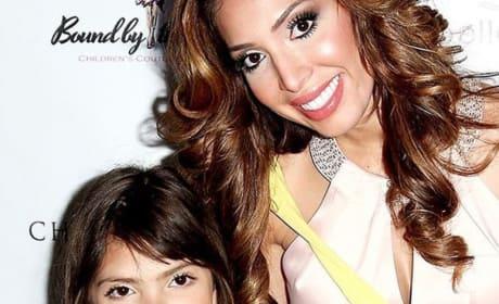 Farrah Abraham Shares Shower Selfie of Daughter, Can't Stop Failing at Motherhood
