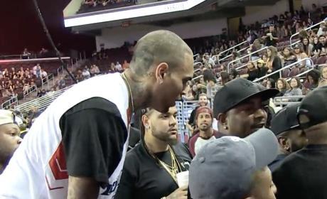 Chris Brown Rages