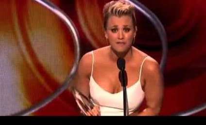 Kaley Cuoco Forgets to Thank Ryan Sweeting in People's Choice Acceptance Speech; Ex-Boyfriend Johnny Galecki Does It For Her