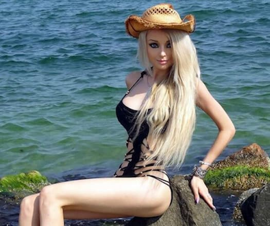 Human Barbie Swimsuit Photo