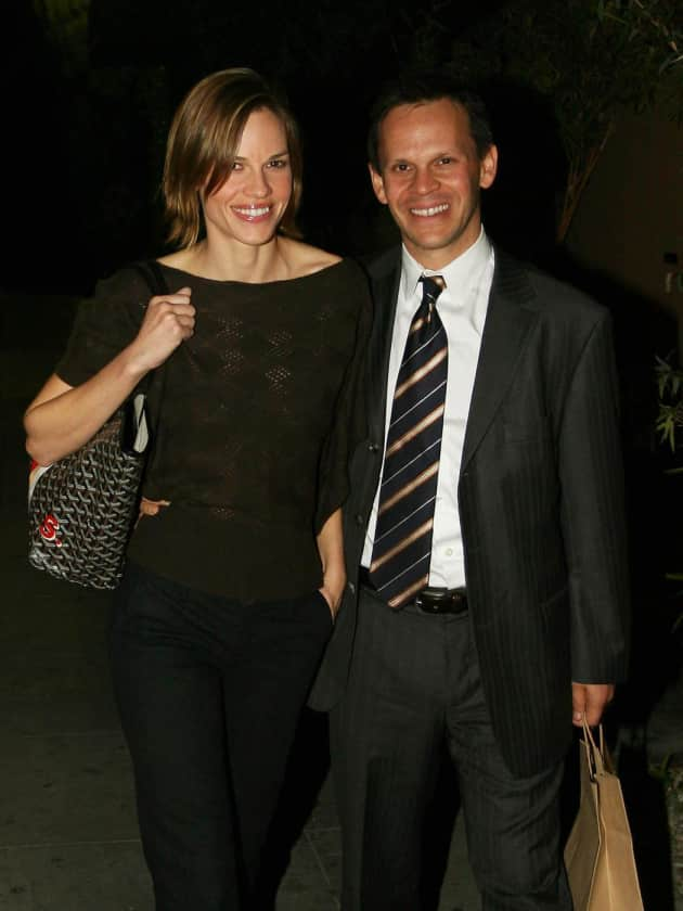Hilary Swank and John Campisi