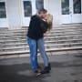 Christina El Moussa and Ant Anstead Kiss