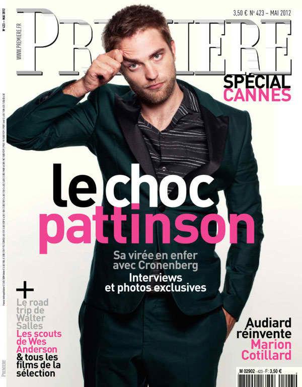 Robert Pattinson Parade Cover