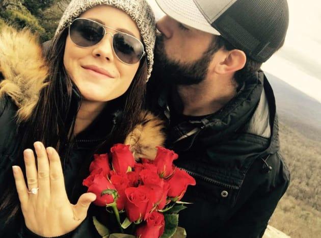 Jenelle Evans Engagement Pic