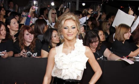 Julianne at the Premiere