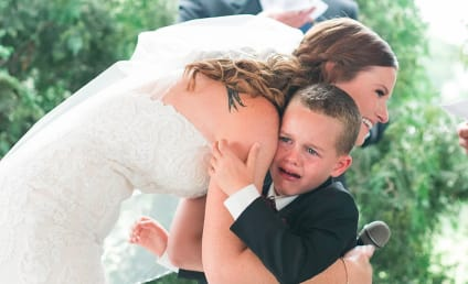 Bride Recites Vows to 4-Year Old Stepson and He's Not the Only One Moved to Tears