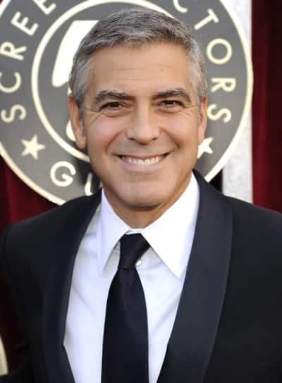 George Clooney at the SAG Awards