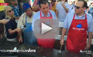 Ellen Page Confronts Ted Cruz at Lowa State Fair: WATCH!