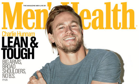 Charlie Hunnam Men's Health Cover