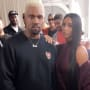 Kanye West and Kim Kardashian for Fashion Week