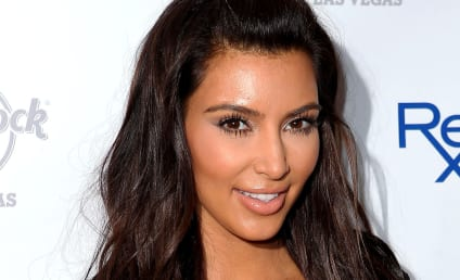 Kim Kardashian Gets Punk'd, Pretends to Be Shocked