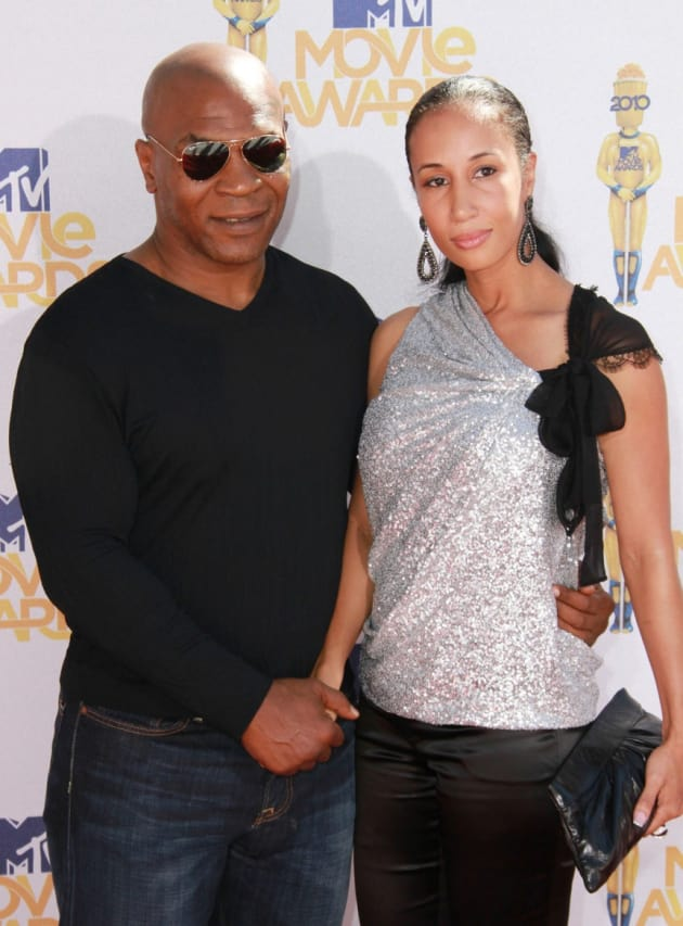 Mike Tyson and Lakiha Spicer: Married (Again, Sort Of ...