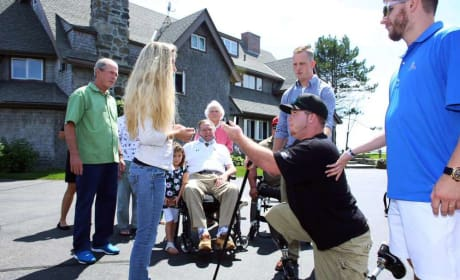 Wounded Warrior Proposes to Girlfriend (But, Wait, There's More!)