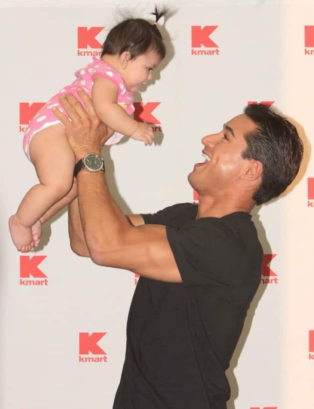 Mario Lopez as a Father