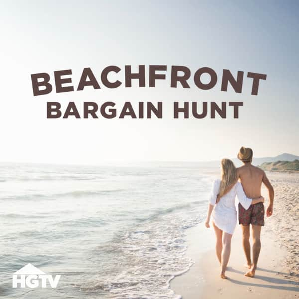 Beachfront bargain hunters